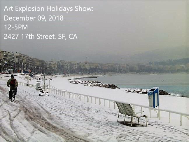 Art Explosion - Holidays Show 2018 (SF, CA)